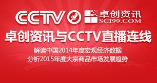 卓创资讯直播连线CCTV新闻频道