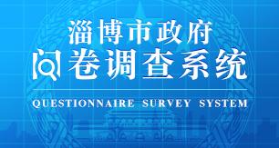 淄博市政府问卷调查系统