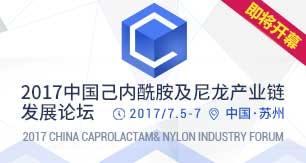 2017中国己内酰胺及尼龙产业链发展论坛即将开幕