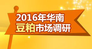 2016年华南豆粕市场调研