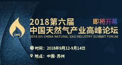 2018第六届中国天然气产业高峰论坛