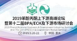 2019苯酚丙酮上下游高峰論壇暨第十二屆BPA/ECH及下游市場研討會